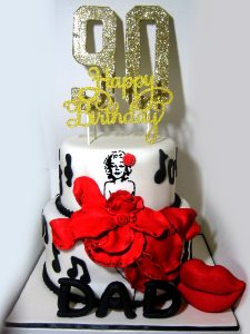 Celebrity Model Cake