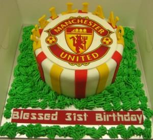 MANCHESTER UNITED CAKE