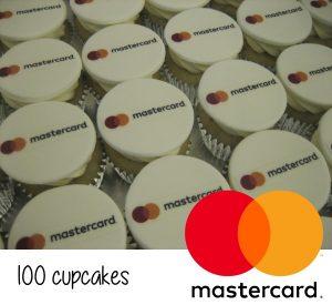 Mastercard Cupcakes