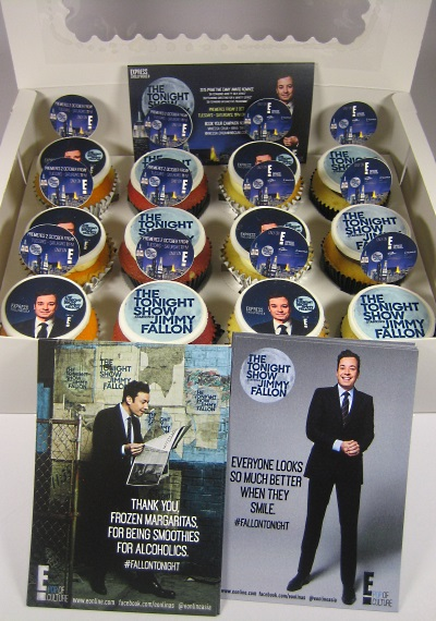 NBCUniversal International Networks cupcakes