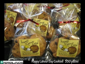 P & F- Labor- day- cookies