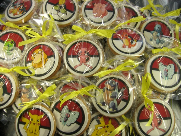 Pokemon icing print Cookies
