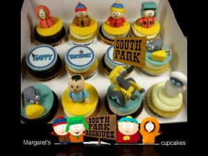South-Park-birthday-cupcakes