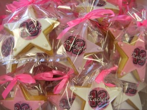 Star Birthday Cookies
