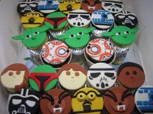 Star War cupcakes