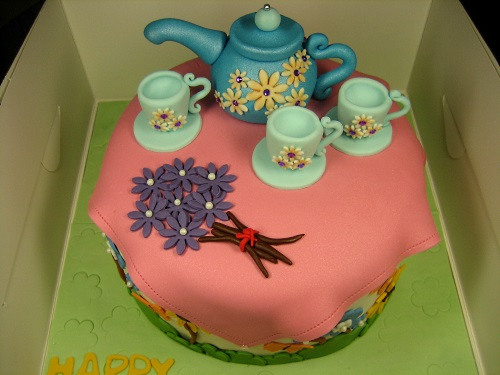 TEA- CUP-CAKE