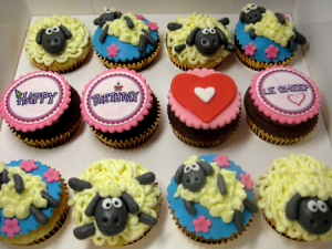birthday-Sheep-cupcakes