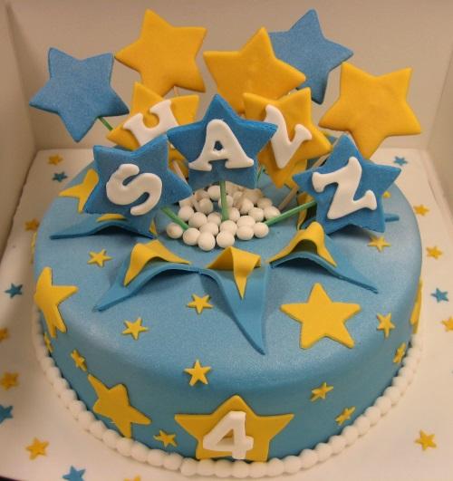 4th Birthday Boy Cake