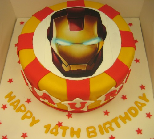 Iron 1 kg cake