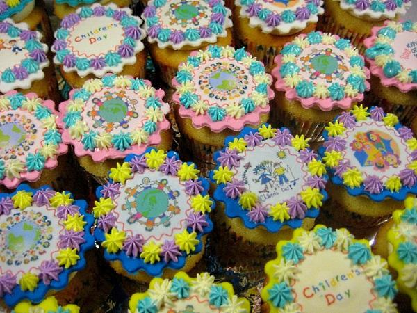 Children Day Cupcakes