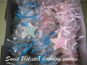 Star-decorated-creative cookies