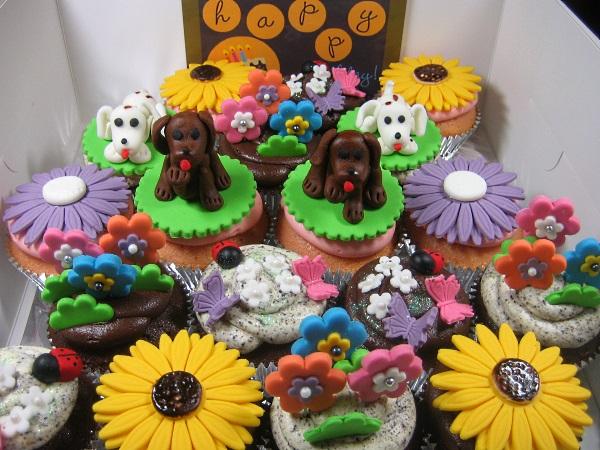 doggie-cupcakes