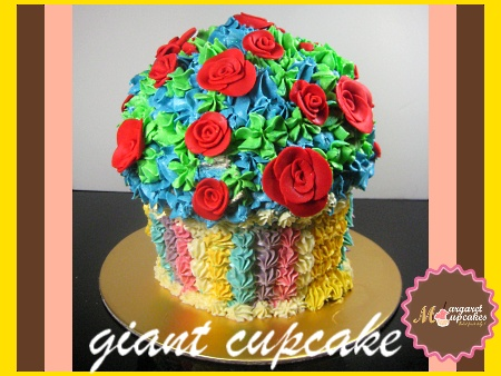 giant-cupcake--Happy-birthday-decorated-cake