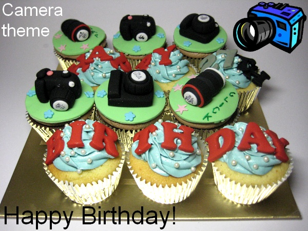 happy-birthday-camera-customized-cupcakes