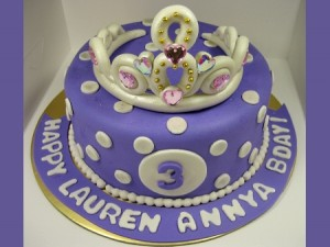 purple-queen-happy-birthday-themed cake