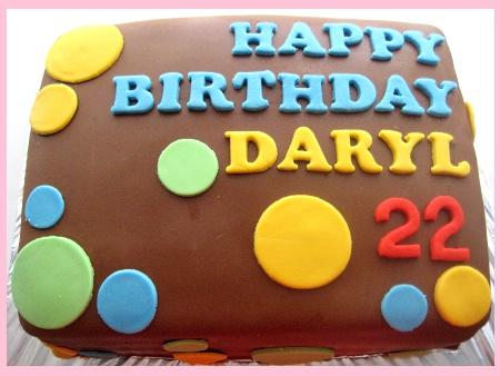 22nd-Happy-birthday-themed-cake