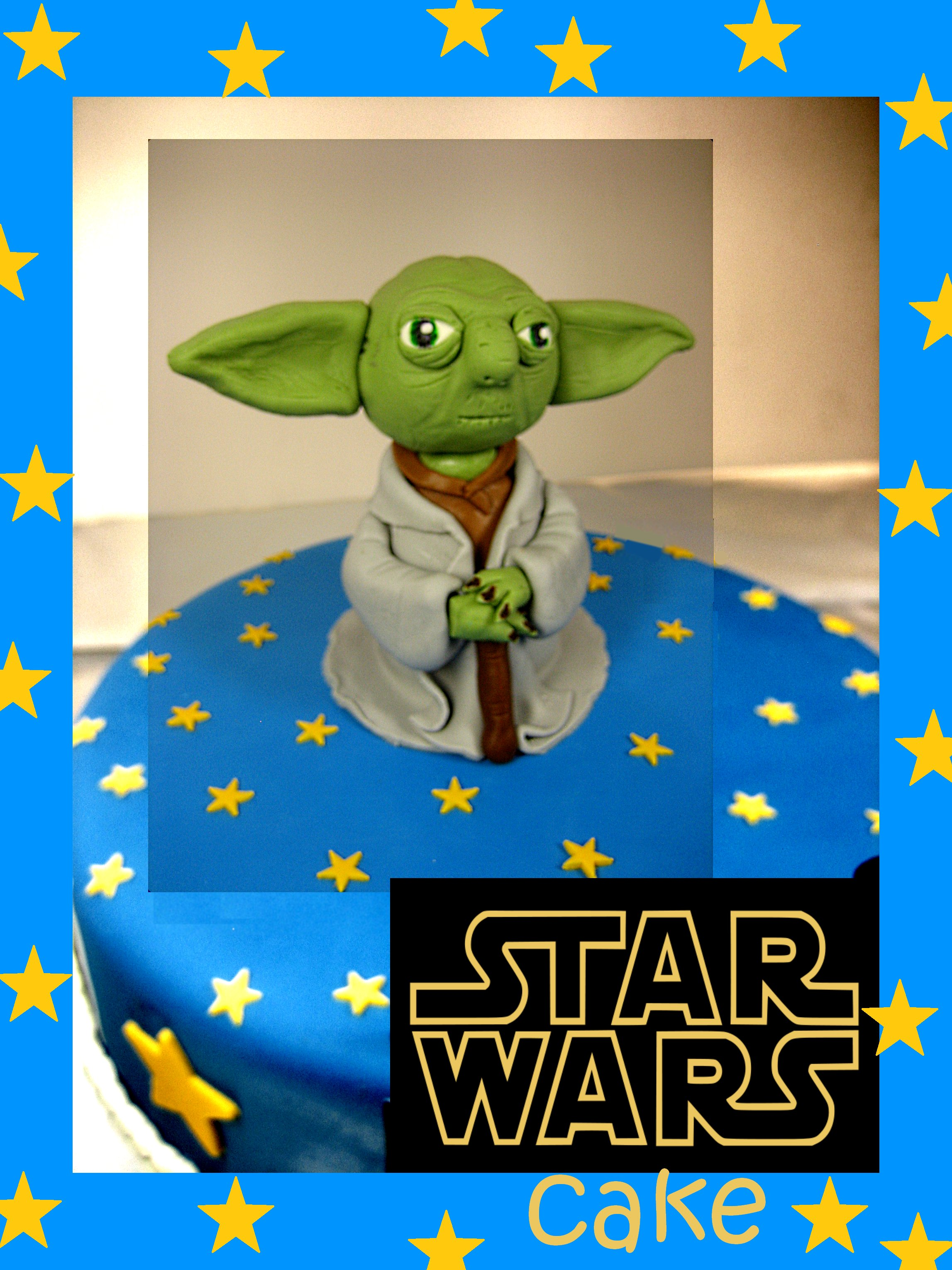 yoda-star-Happy-birthday-themed-cake