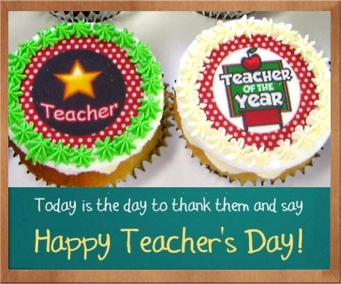 Teacher's Day Cupcakes