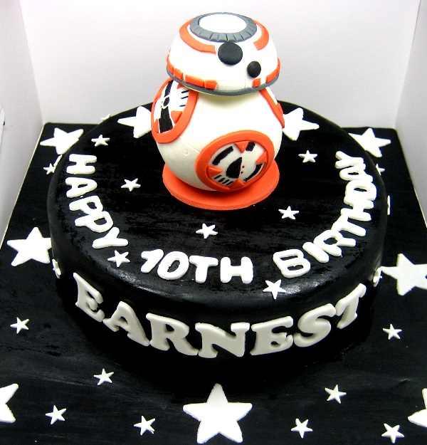 Star Wars Cake Black