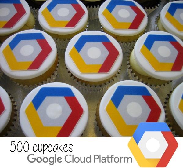 Google Cloud Platform cupcakes