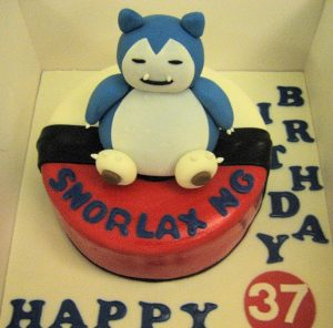 Snorlax Birthday Cake Singapore