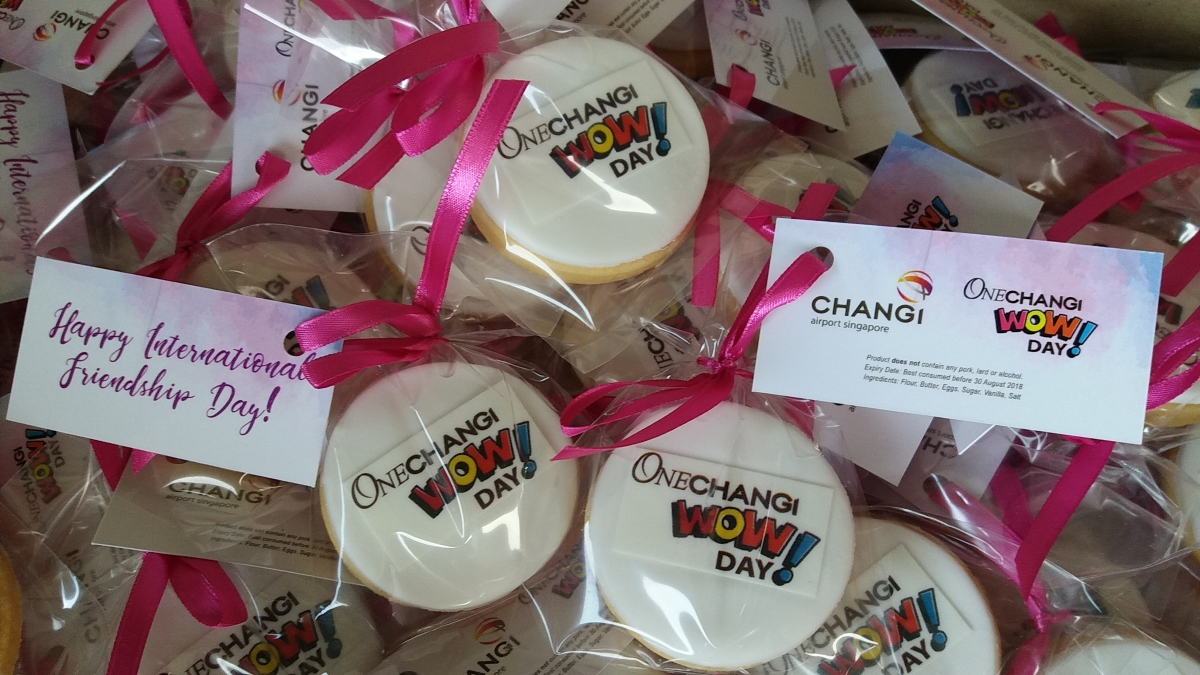 OneChangi Wow Day! Corporate Cookies