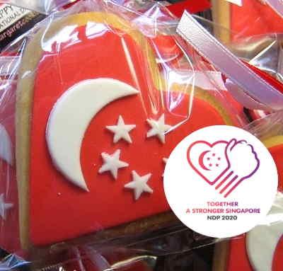SG55 HEART-SHAPED FLAG